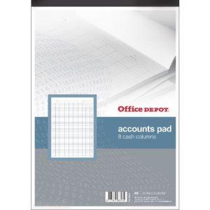 niceday A4 Analysis Book 4 Debit 16 Credit Cash Columns